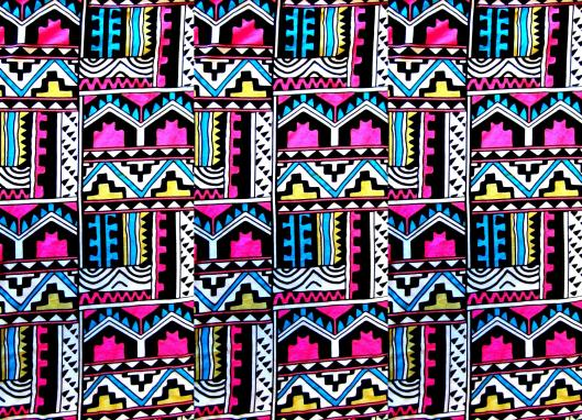 Neon Aztec Backgrounds